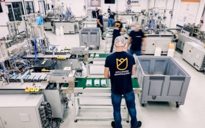 HMK Medical maakt steeds meer mondkapjes, vrijdag opening fabriek